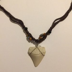 Other - Faux Shark Tooth Necklace
